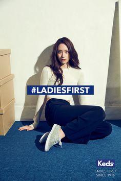 f(x)'s Krystal Models For Sneaker Brand 'Keds' #LadiesFirst Campaign – Kpopfans