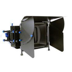 4x4 4x5.65 DSLR Matte Box Dual Filter Trays for 15mm Rod DSLR Rig 7D 650D 5D III £149.00