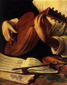 """Caravaggio: """"Tañedor de Láud"""""""