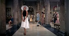To Catch a Thief: Grace Kelly's Beach Wear  - Pure Class, Simple Lines, Fun Material... Runway fashion on the beach.