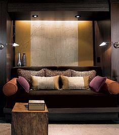 candice olson divine design basement | Candice Olson's Divine Design: Room Service - ELLE DECOR