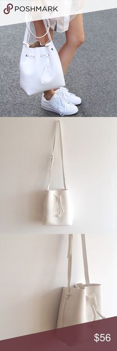 Bucket Bag Product is in photos #2-4 // brand new // faux leather // no trades Bags