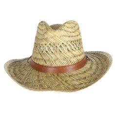 Kenny K Men s Rush Straw Lightweight Safari Hat with Chin Cord. Safari  HatVisorsSun ... e67a99454934