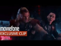 Clip from Thor: The Dark World.  lol kiss backseat driver. God, I love this so much.