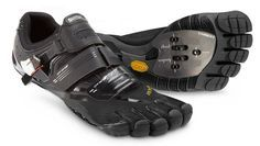 'Barefoot' Cycling Shoe Promises Natural Cycling Action Fivefingers - PentiCleat