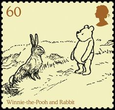 60p Pooh informs Rabbit about the 'Expotition to the North Pole', in Winnie-the-Pooh.