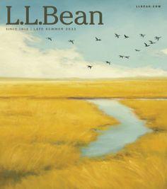 L.L.Bean Late Summer 2011 Catalog Cover art by Margaret Gerding.