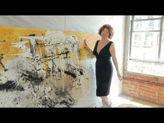 Clara Berta talks about her process with painting big and with texture : Downtown LA Artist