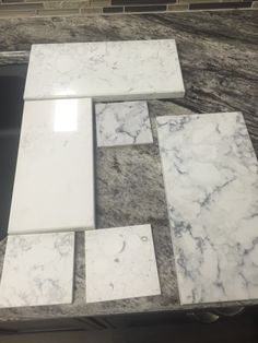 More practical Alternative to white marble , Calacatta nuvo by caesarstone , silestone blanco Orion , lg viatera rococo ..