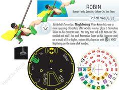 Heroclix Robin Dial
