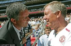 Jose Mourinho and Sir Alex Ferguson will meet for the 15th time on Wednesday