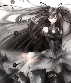 Dang girl! - Anime, Girl, Dark, Gothic Lolita,