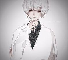 Anime Oc, Dark Anime, Anime Chibi, Cool Anime Guys, Hot Anime Boy, Eyes Artwork, Anime Artwork, Dark Art Illustrations, Arte Obscura
