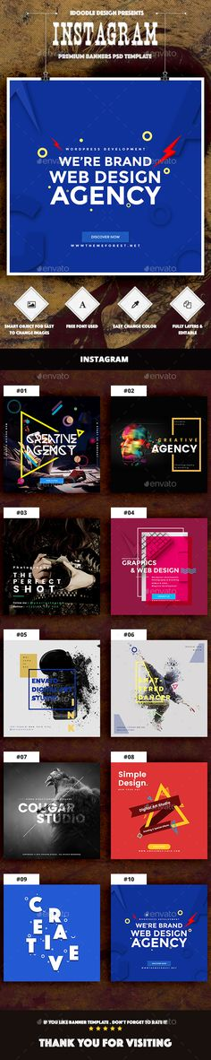 91 Best Instagram Banners images in 2018 | Instagram banner, Social