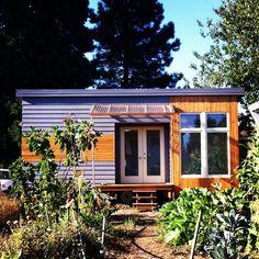 1) A tiny dream home in Portland. #tinyhouseonwheelsforsale