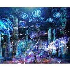 水族館×3Dプロジェクションマッピング「ナイトアクアリウム」開催 | Fashionsnap.com