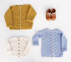 | b l a d r i l l e j a k k e | #bladrillejakke finnes nå hos woolspire.com og på ravelry  #strikkedilla // new pattern out (Norwegian) #garterleavesjacket #iloveknitting