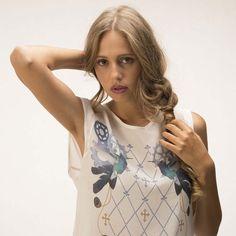 Top DECOR SILK Colibrì #decorsilk #fashion #swag #style #fashionlove #madeinitaly #belimousine #top #details