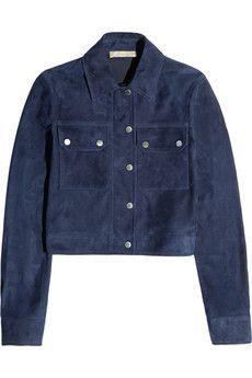 Michael Kors Suede jacket | NET-A-PORTER