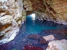 The Odysseus' cave  Mljet
