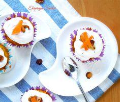 Bezglutenowe marchewkowe muffinki