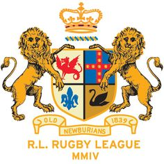 ROB HOWELL Old Newburians Crest for RUGBY RALPH LAUREN