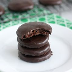 Homemade Thin Mint Recipe #cookies #girlscouts