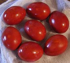 An ancient Ostara custom was to dye eggs red, the color of life-force and regenerations