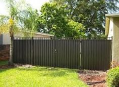 : Inexpensive aluminum privacy fence designs