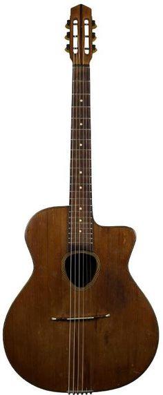 1940's Joseph Di Marco Guitar --- https://www.pinterest.com/lardyfatboy/