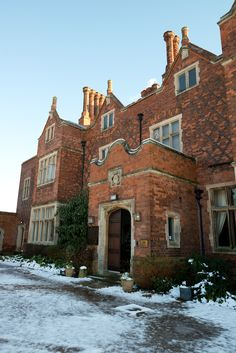 Nottinghamshire's Hodsock Priory: People have lived at Hodsock for over 2000 years, with evidence from The Bronze Age, Roman, and Saxon farmers being discovered in the grounds. In 1086, Hodsock is listed in The Doomsday Book with Ulsí as the owner, pre the Norman Conquest. After this, Torald dé Lísorlís owned the estate, and it passed to the Cressy family through marriage from the mid-12th Century, for over 200 years. They entertained three kings here: Henry II, John,  and Edward I.