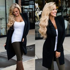Fashon Women Long Cardigan Loose Sweater Knitted Outwear Jacket Coat Tops