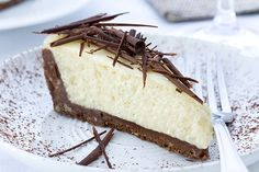 Receta de Tarta de Queso y Limón con Chocolate