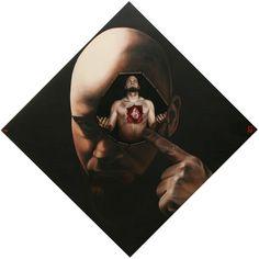 Oilpainting by Lévay Máté #oil #painting #oilpainting #portrait #heart