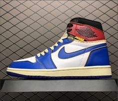 wholesale dealer 101b2 b0d65 Union Los Angeles x Air Jordan 1 Retro High OG NRG White Storm Blue Varsity  Red