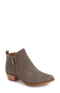 55fb8b12fb1 Lucky Brand  Basel  Perforated Bootie (Women) Sock Shoes
