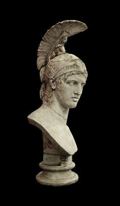 Ares. 420.B.C. Roman marble after a Greek original. | Hermitage Museum.