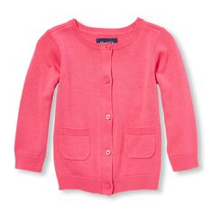 Toddler Girls Long Sleeve Cardigan