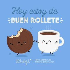 ¿Quién se apunta a una buena merienda? I am in a fine mood today. Anyone fancy a lovely snack? #mrwonderfulshop #quotes #snack #food #happy