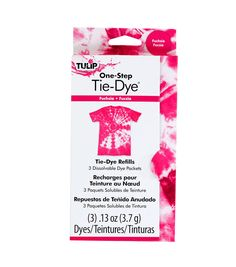 Tulip One-Step Tie-Dye Refill - Fuchsia (Pink) Diy Tie Dye Socks, Diy Tie Dye Shirts, Tulip Tie Dye, First Aid Treatment, Tulip Colors, Colours, Tie Dye Kit, Tie Dye Crafts, One Step