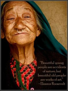 beautiful old people