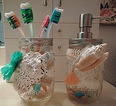 Mason Jar Beach Style Soap Dispenser and Toothbrush Holde... https://www.amazon.com/dp/B01BN7N0Z0/ref=cm_sw_r_pi_dp_x_.t13ybNBAAQKE