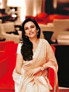 Nita Ambani ,EDUCATIONIST AND PHILANTHROPIST