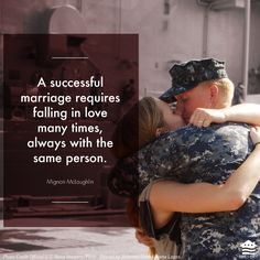 Military Families aren't strong by virtue of being military families. They are strong because they work to overcome all the obstacles in their way. Military Marriage, Military Families, Military Relationships, Military Love, Army Love, Military Quotes, Us Navy Love, Successful Marriage, Unhappy Marriage