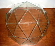 Glass Geodesic Dome