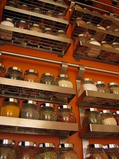 spice storage   Spice storage from my favorite store – Ikea. source: Elevencupcakes ...
