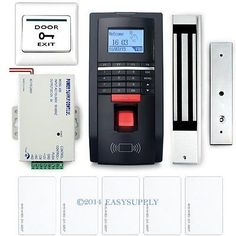 Diy fingerprint and id card door #access #control system #kit+power+lock+5 id car, View more on the LINK: http://www.zeppy.io/product/gb/2/131693473727/