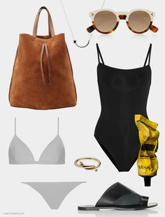 #summer #wishlist by @andyheart #sunglasses #swimsuit #tote #jewelry #aesop #skincare #beauty
