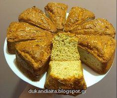 Όλα για τη δίαιτα Dukan: Αφράτα ψωμάκια Ντουκάν χωρίς ανεκτά Dukan Diet, I Foods, Banana Bread, French Toast, Low Carb, Breakfast, Desserts, Recipes, Morning Coffee