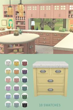 EA Parenthood Kitchen Recolor Couldn't wait to get. Miss Ruby Bird — EA Parenthood Kitchen Recolor Mods Sims, Sims 4 Game Mods, Maxis, Sims 4 Kitchen, The Sims 4 Packs, Muebles Sims 4 Cc, Sims 4 House Design, Sims House Plans, Sims Building